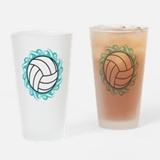 tribal volleyball Drinking Glass