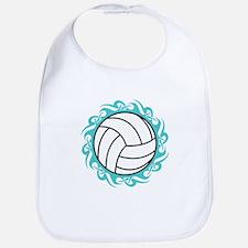 tribal volleyball Bib