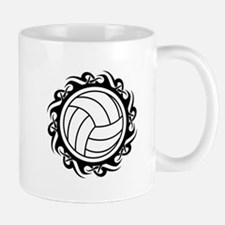 tribal volleyball vector Mugs