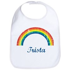 Trista vintage rainbow Bib