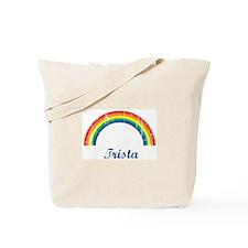 Trista vintage rainbow Tote Bag
