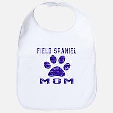 Field Spaniel mom designs Bib