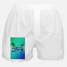 Tropical design Boxer Shorts