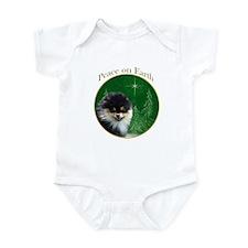 Pomeranian Peace Infant Bodysuit