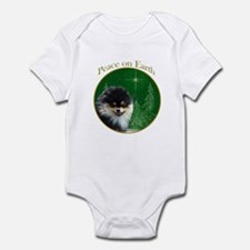 Pomeranian Peace Infant Bodysuit