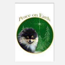 Pomeranian Peace Postcards (Package of 8)