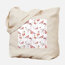 Flamingo Birds Tote Bag