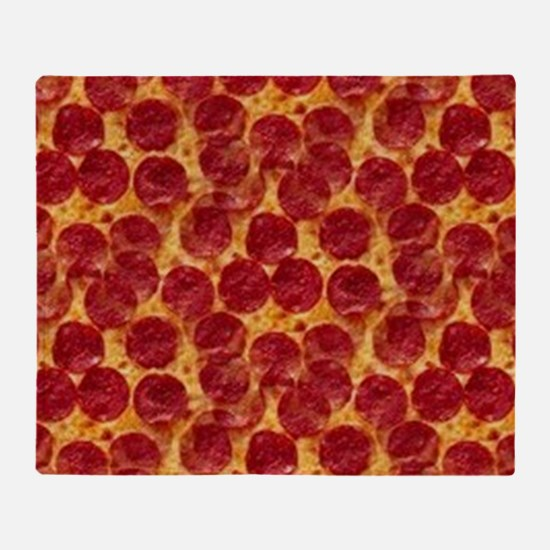 pizzas Throw Blanket
