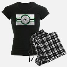 cycleStripe wheel Pajamas