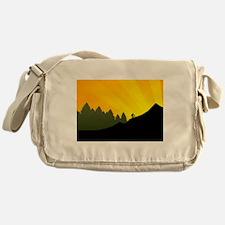 mountain trail biking Messenger Bag