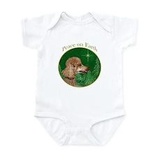 Poodle Peace Infant Bodysuit