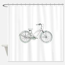 cruiser bike Shower Curtain