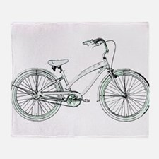 cruiser bike Throw Blanket