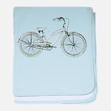 cruiser bike baby blanket