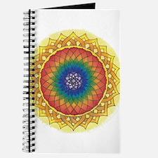 Sunflower Crown Mandala Journal