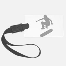 skateboarder chex Luggage Tag