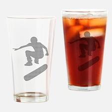 skateboarder chex Drinking Glass