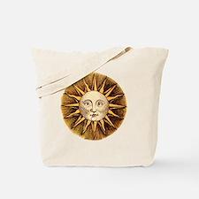 Sun Face Tote Bag