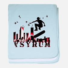 asyrum sk8 baby blanket