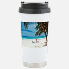 I Love Naples, Florida Stainless Steel Travel Mug