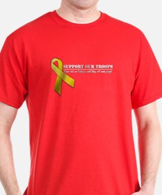 Red Friday's:Troop Support Red T-Shirt