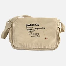 My future will look like Messenger Bag