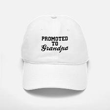 Promoted To Grandpa Baseball Baseball Cap