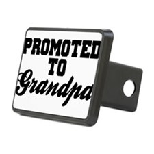 Promoted To Grandpa Hitch Cover