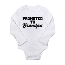 Promoted To Grandpa Body Suit