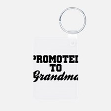 Promoted To Grandma Keychains