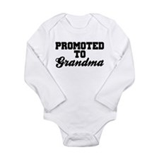 Promoted To Grandma Body Suit