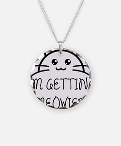 I'm Getting Meowied Necklace Circle Charm