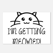 I'm Getting Meowied Postcards (Package of 8)