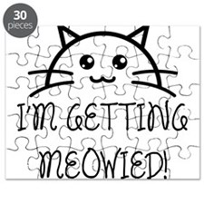 I'm Getting Meowied Puzzle