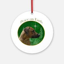 Ridgeback Peace Ornament (Round)