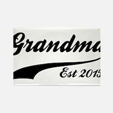 Grandma Est 2015 Magnets