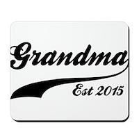 Grandma Est 2015 Mousepad