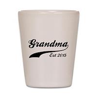 Grandma Est 2015 Shot Glass