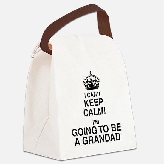 I Can't Keep Calm I'm Gona be A Grandad Canvas Lun