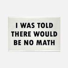 I Math Rectangle Magnet