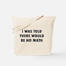 I Math Tote Bag