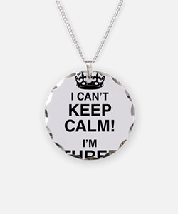 I Can't Keep Calm I'm Three Necklace