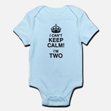 I Can't Keep Calm I'm Two Body Suit