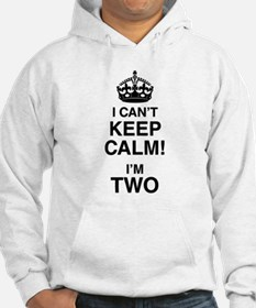 I Can't Keep Calm I'm Two Jumper Hoody