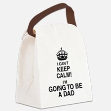 i cant keep calm im going to be a dad Canvas Lunch