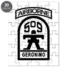 509th Infantry Airborne stencil Puzzle