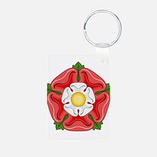 Tudor Rose Keychains