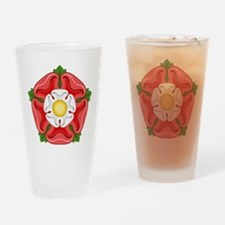 Tudor Rose Drinking Glass