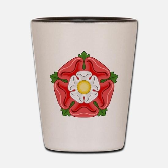 Tudor Rose Shot Glass