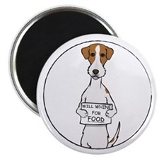 """Jack Russell Whine 2.25"""" Magnet (100 pack)"""